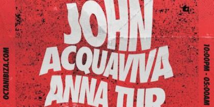 John Acquaviva en Octan Ibiza Fiestas