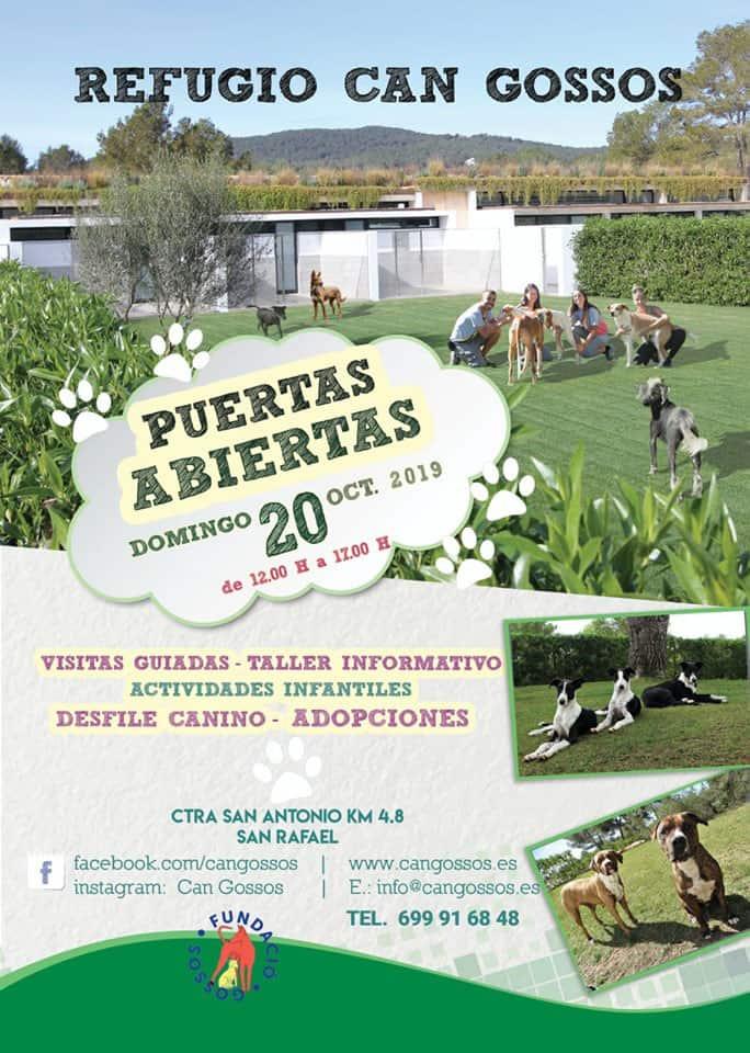 Journée des portes ouvertes au Refugio Can Gossos Ibiza