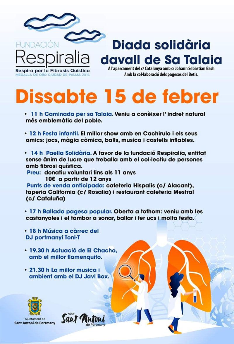 Respiralia организует веселый день солидарности в Сан-Антонио