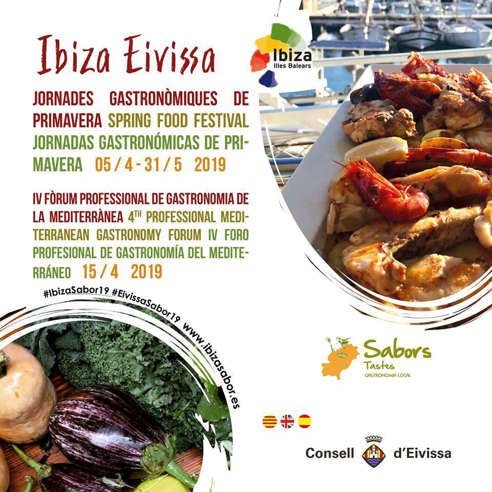 Journées gastronomiques du printemps Ibiza Sabor: