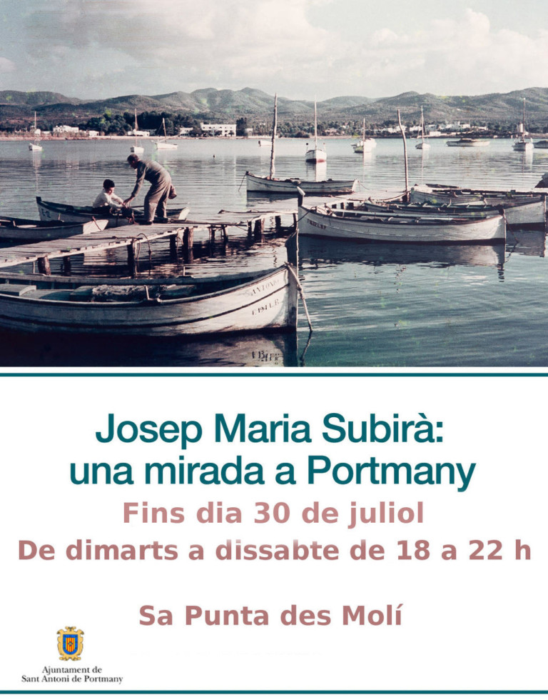Josep Maria Subirà: Ausstellung in Sa Punta des Molí