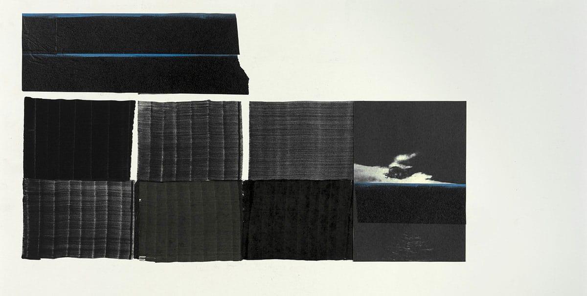 Exposition de Juan Uslé dans la salle des armes de MACE