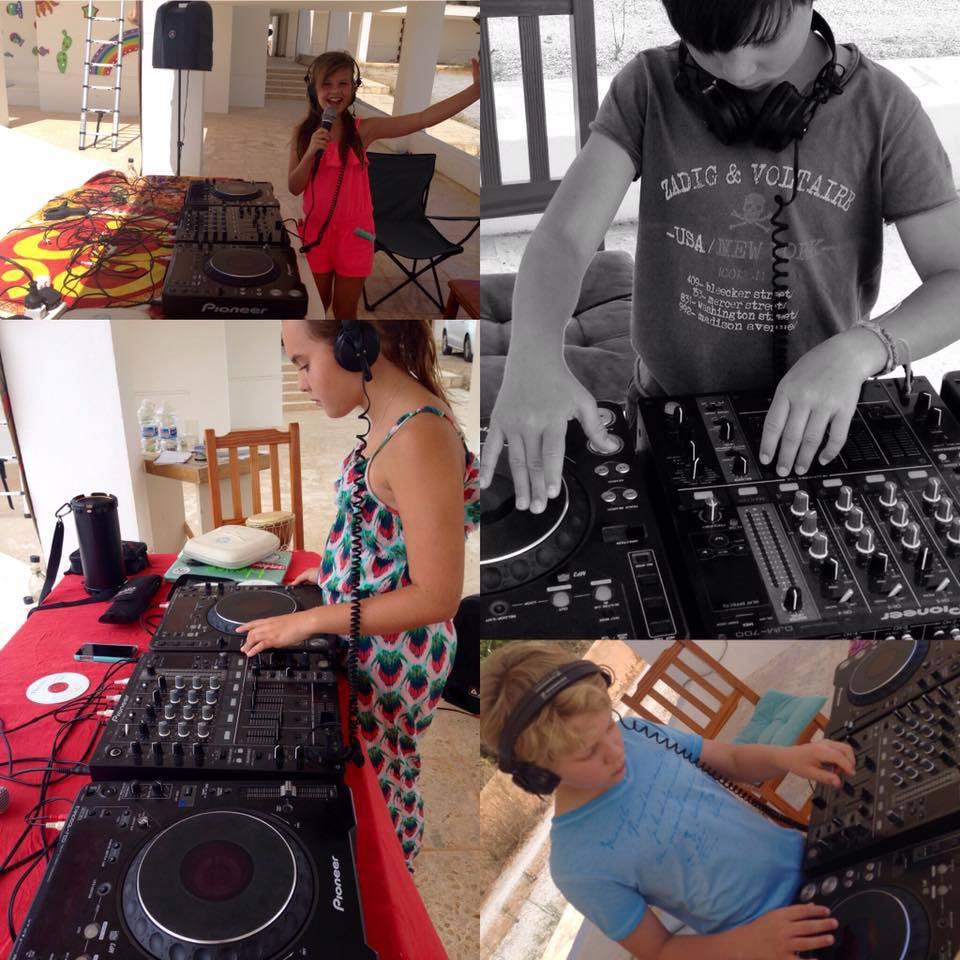 Kids Dj Booth Ibiza