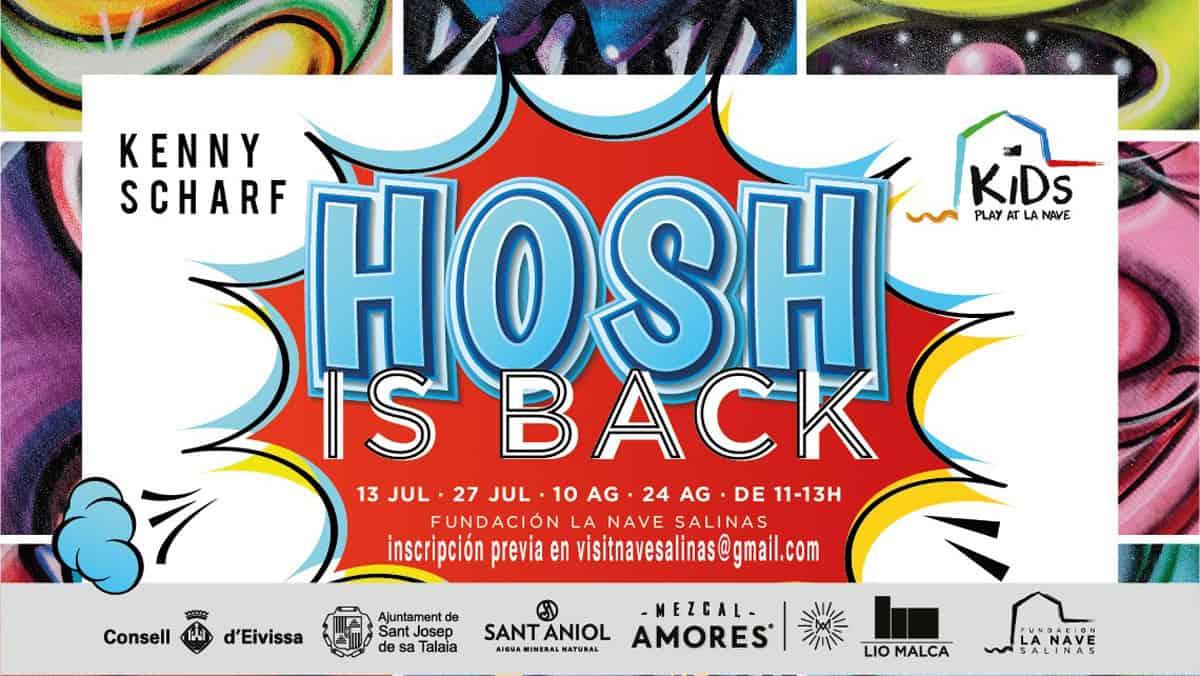 Hosh revient pour guider les ateliers artistiques de Kids Play à La Nave