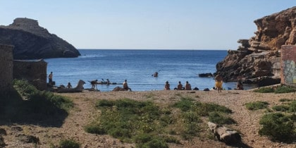 Ruta a Punta Galera con Kronan Kayak Ibiza Deportes