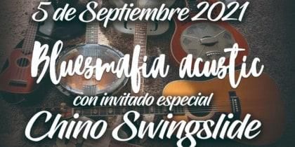 Bluesmafia in acoustic on Sunday at Kumharas Ibiza Music