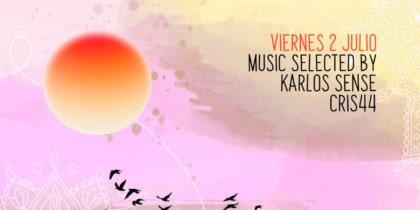 Karlos Sense y Cris44 ambientan la puesta de sol de Kumharas Ibiza Lifestyle