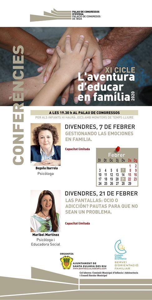 Das Abenteuer der Erziehung als Familie kehrt in den Palast der Kongresse von Ibiza zurück
