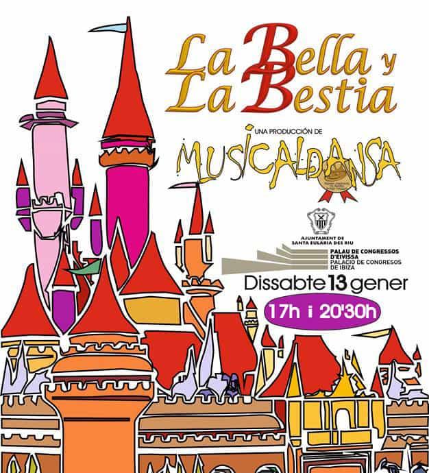 """Nuova opportunità per godersi """"La bella e la bestia"""" a Santa Eulalia"""