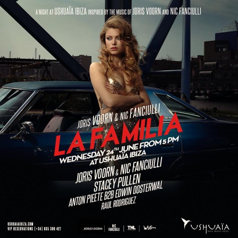 Última cita de La Familia en Ushuaïa Ibiza hasta septiembre