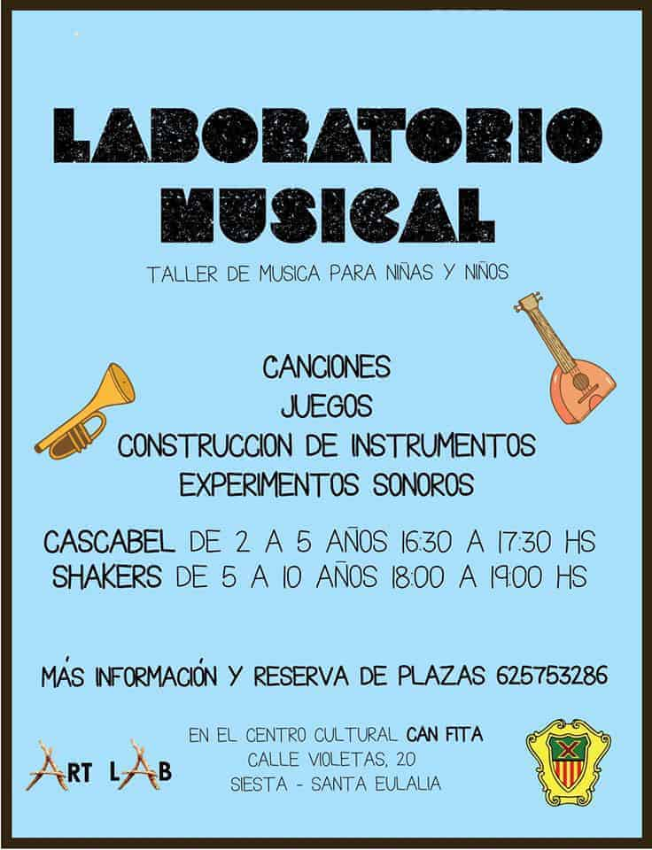 Laboratori Musical per a nens a Siesta