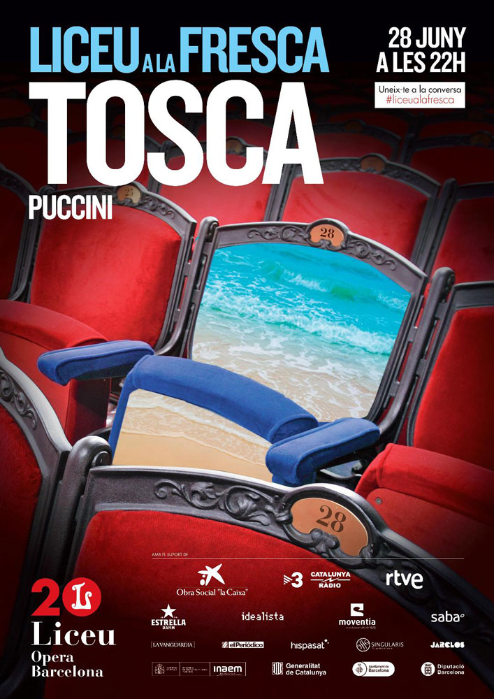 Tosca de Puccini avec Liceu a la Fresca à Cas Serres Ibiza