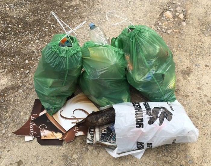 Limpieza voluntaria de la playa de Es Figueral el sábado