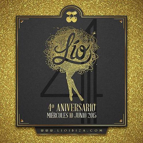 Fiesta de aniversario de Lío Club Ibiza este miércoles