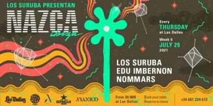 Les Suruba présentent Nazca à Las Dalias Ibiza