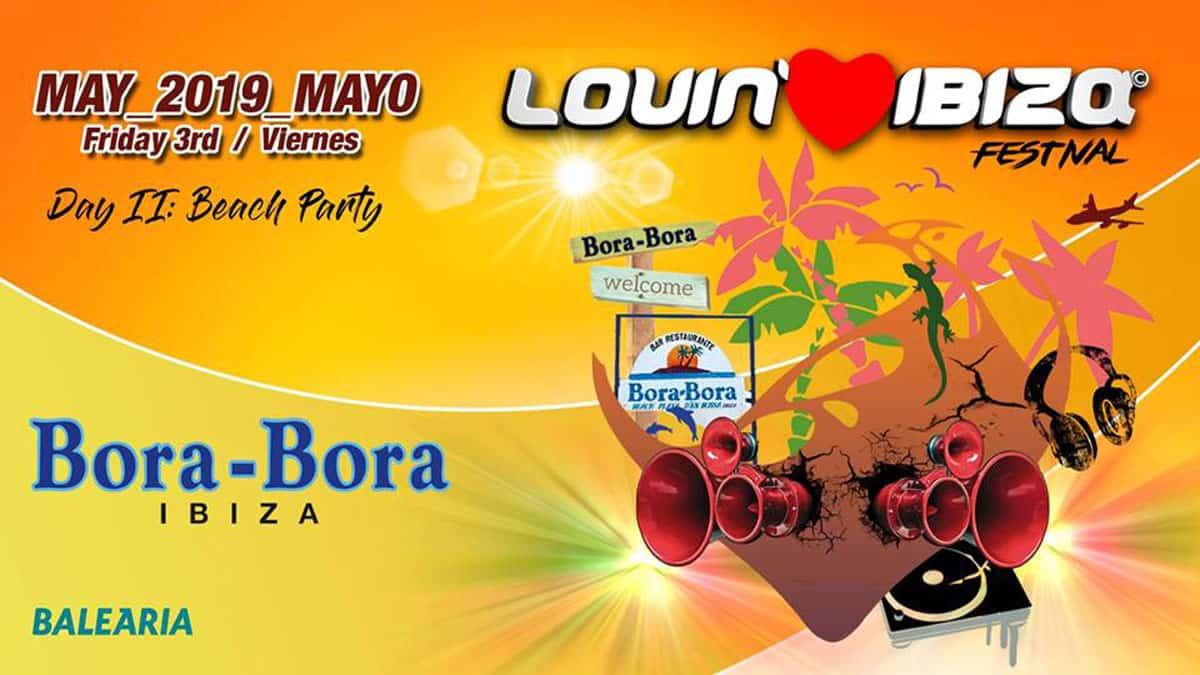 Lovin 'Ibiza Festival Beach Party à Bora Bora Ibiza