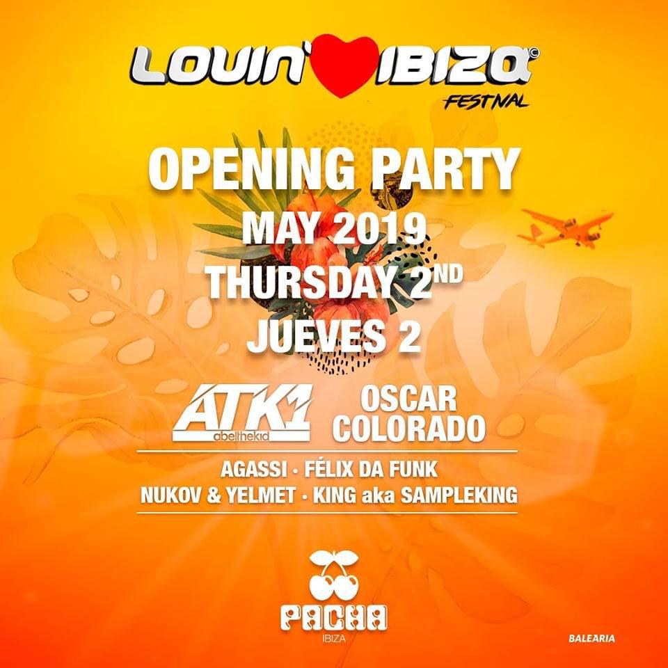 Soirée d'ouverture du festival Lovin 'Ibiza à Pacha Ibiza