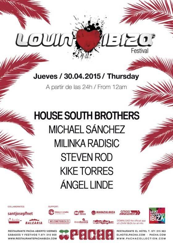 Lovin 'Ibiza bringt Sie am Donnerstag zu House South Brothers nach Pacha