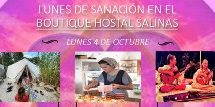 Lunes de Sanación en Boutique Hostal Salinas Ibiza Eventos Ibiza Consciente