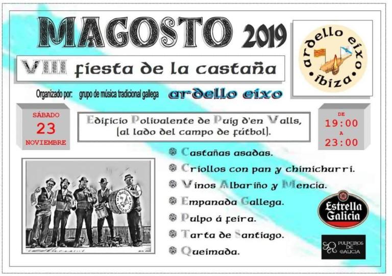Magosto 2019: Vive la Fiesta de la Castaña en Ibiza