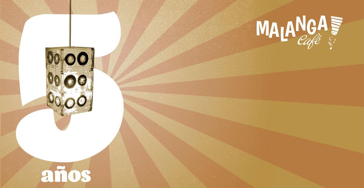 Malanga Café Ibiza приглашает вас на вечеринку, посвященную 5-летию