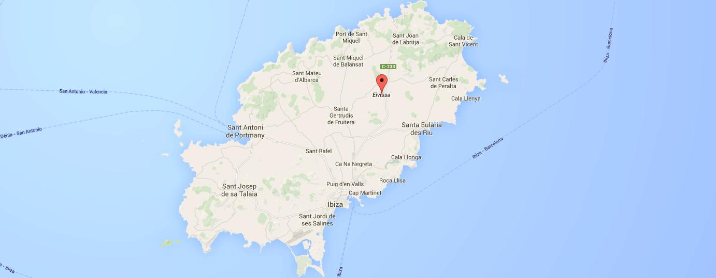 Mapa De Ibiza Calas.Mapas De Ibiza Lleva Los Mapas De Ibiza Contigo