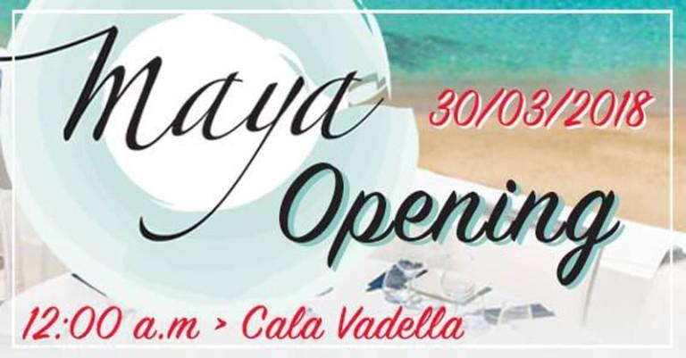 Maya Beach Club Opening Party