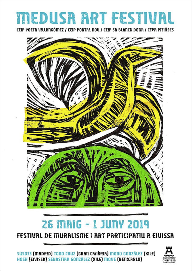 Medusa Art Festival: urban art in the schools of Ibiza