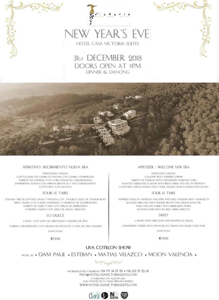 Незабываемый новогодний вечер в отеле Casa Victoria Suites