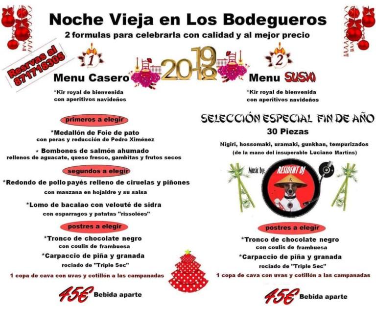 Новогоднее меню на Ибице: ресторан Los Bodegueros