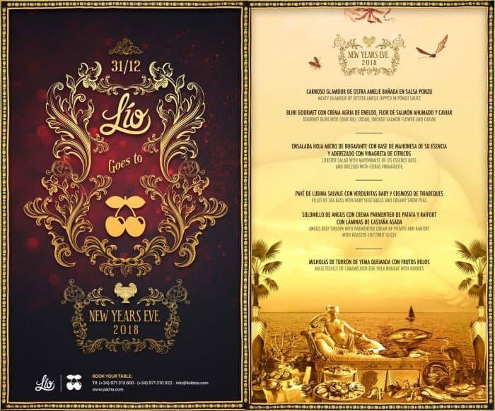 Новогоднее меню на Ибице: Лио едет в Пашу на Ибицу