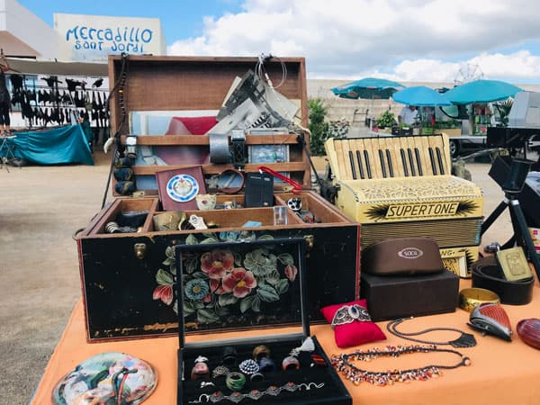 Flohmarkt von Sant-Jordan-Ibiza