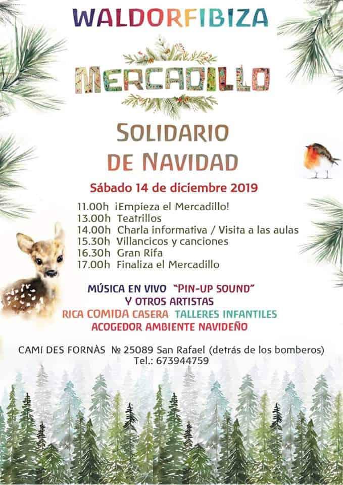 Erleben Sie einen Familien-Samstag mit dem Waldorf Ibiza Weihnachtsmarkt