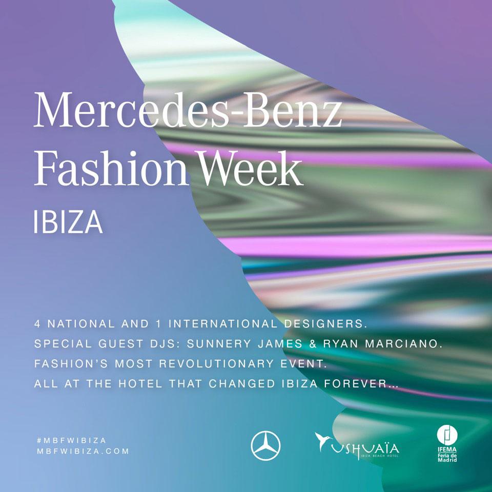 Mercedes-Benz Fashion Week en Ushuaïa Ibiza