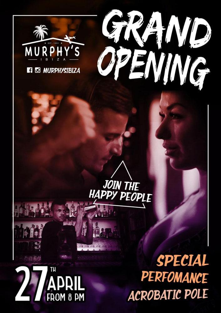 Murphy's Ibiza Grand Opening