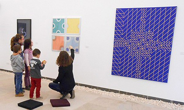 Have breakfast with art at the Museum of Contemporary Art in Ibiza