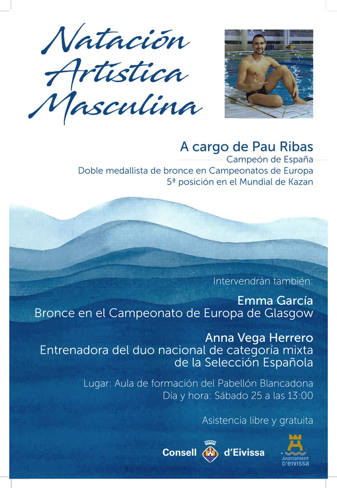 Male Artistic Swimming Tour in Blancadona