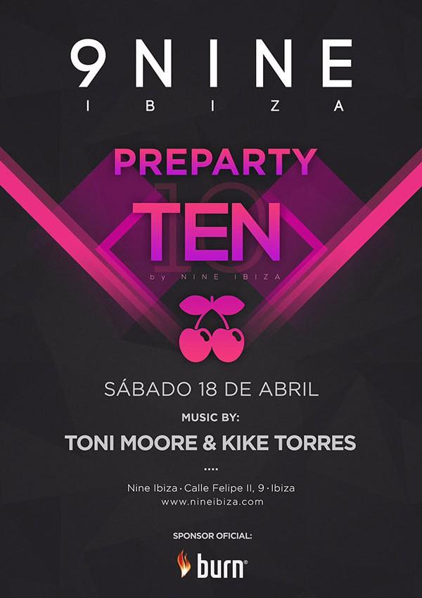 La dixième partie par neuf ce samedi à neuf Ibiza