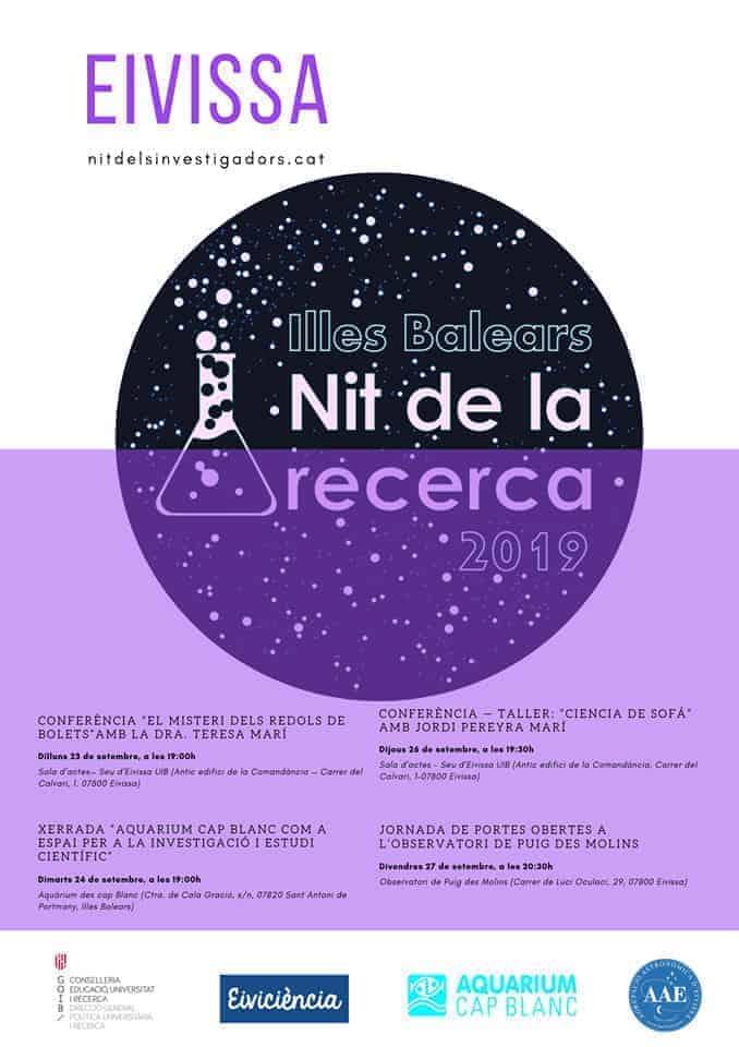 Nit de la Recerca à Ibiza: activités pour se passionner pour la science