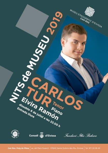 Récital de Carlos Tur au Musée ethnographique d'Ibiza
