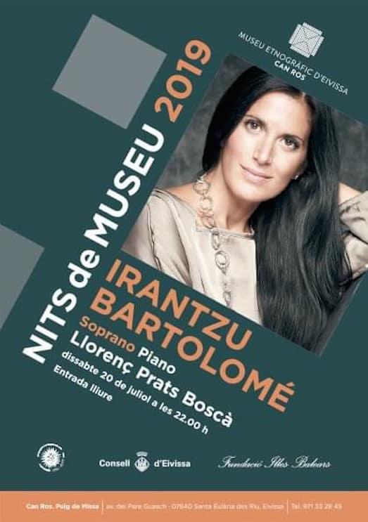 Лирический концерт Иранцу Бартоломе в Этнографическом музее Ибицы