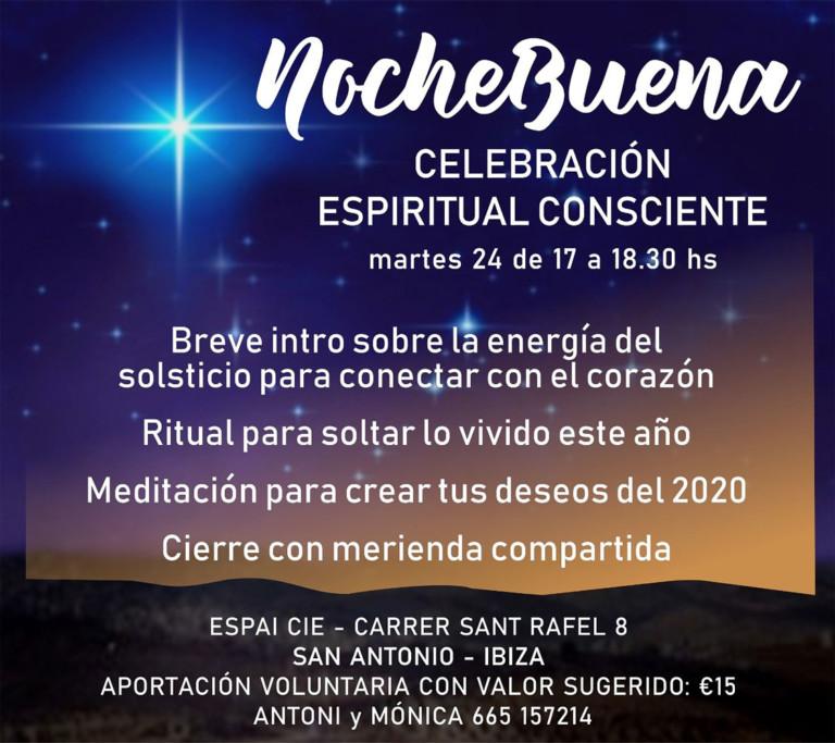Celebració espiritual de Nadal a l'Espai CIE