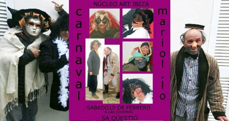 Nucleo Art Ibiza организовывает вечеринку Mariol·los в Са Qüestió Ibiza