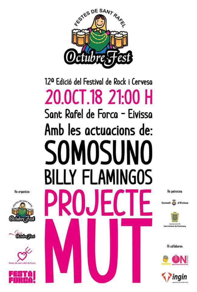 L'édition 12ª d'OctubreFest remplit San Rafael de bière et de rock