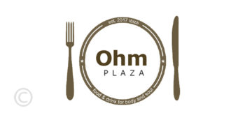 ohm-plaza-bar-restaurant-santa-eulalia-logo-guide-welcometoibiza-2019