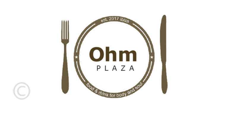 ohm-plaza-Bar-Ristorante-santa-eulalia-logo-guia-welcometoibiza-2019