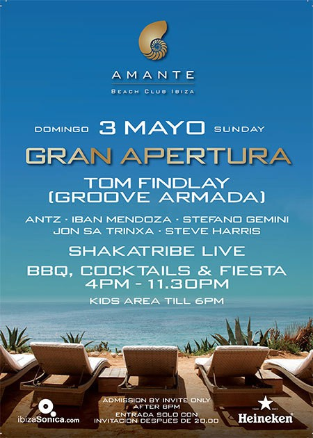 Amante Beach Club Ibiza Opening Party