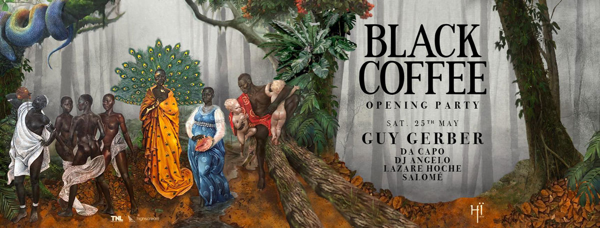 Opening of Black Coffee in Hï Ibiza