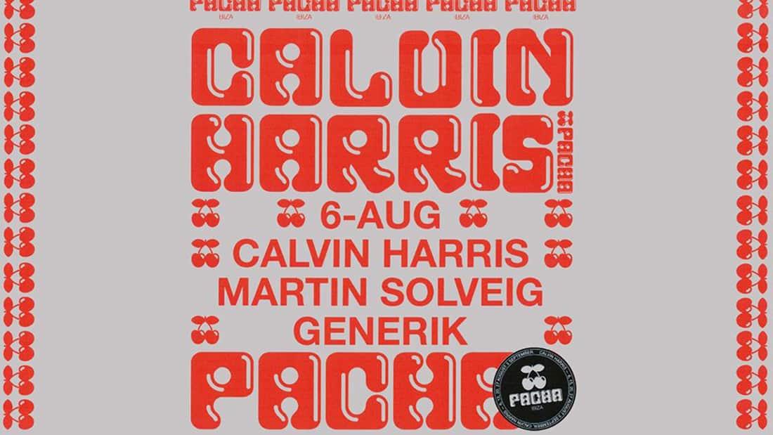 Primera sesión con Calvin Harris en Pacha Ibiza