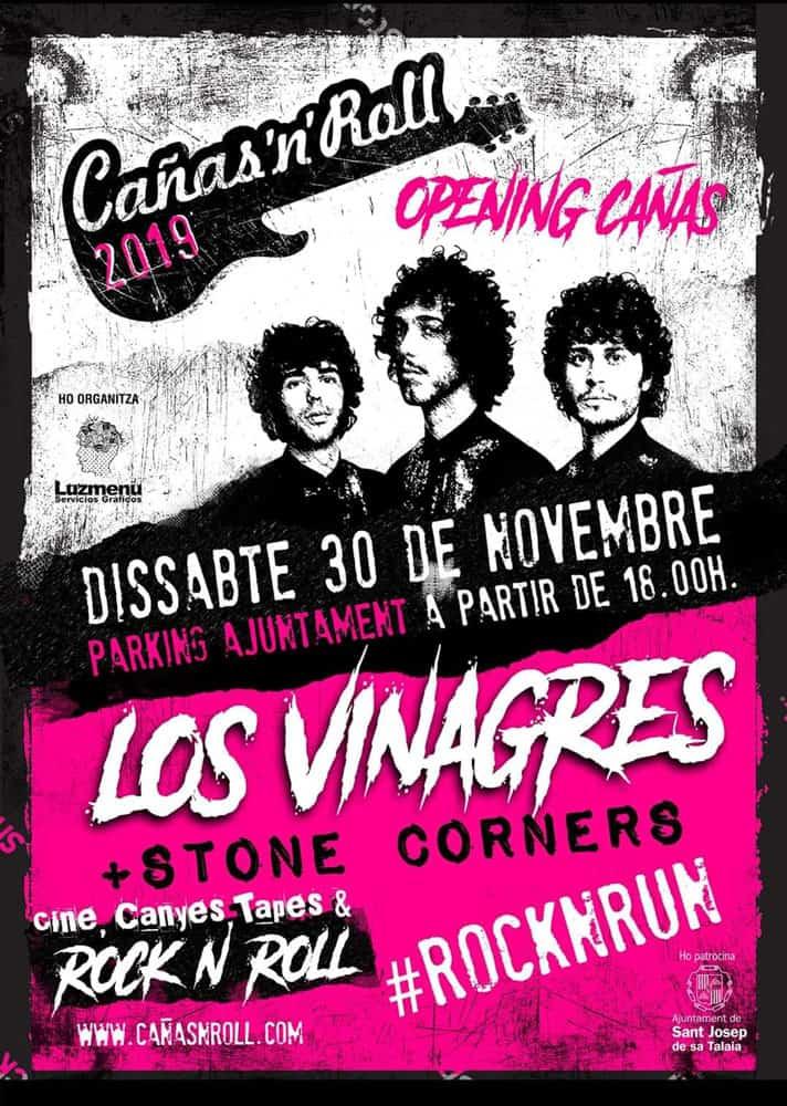 Eröffnung des Cañas'n'Roll mit Konzert von Los Vinagres